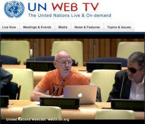 Stakeholder meeting at UN, 26 April 2016
