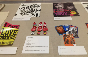 Various Artists, post-cards, badges, stickers and posters