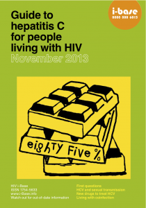 new HCV cover 2013