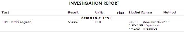 test result nummber v2