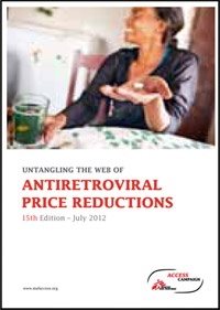 MSF. Untangling the web of antiretroviral price reductions