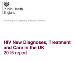 HIV in the UK 2015 repor cover