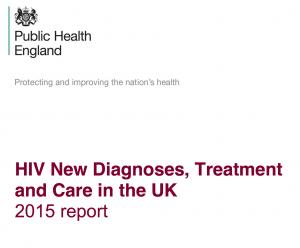 HIV in the UK 2015 repor cover