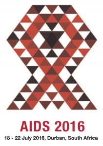 AIDS 2016 combined logo