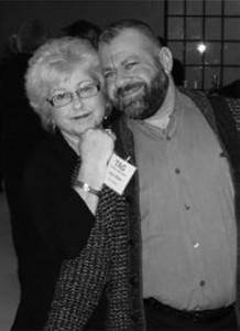 Photo of Margie Garber-Steinberg and Jason Osher