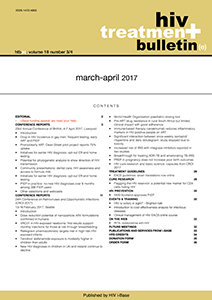 HIV Treatment Bulletin March-April 2017
