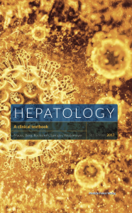 Hepatology textbook cover
