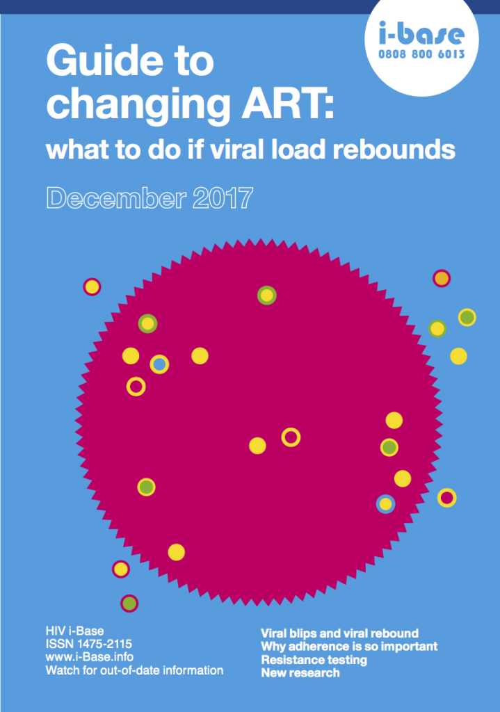 Changing ART: what to do if viral load rebounds