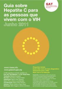 VIH-VHC portuguese 2011 cover