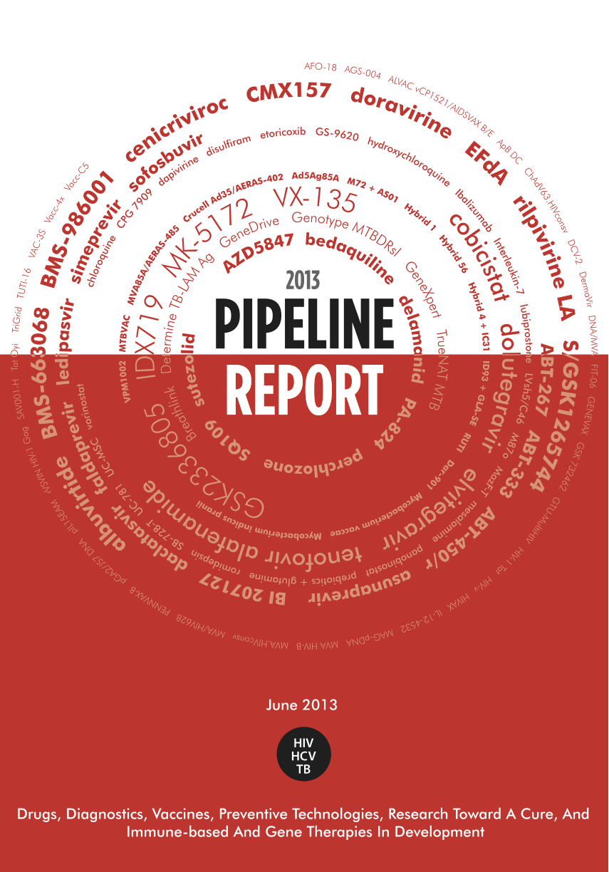 2013 pipeline report | HIV i-Base