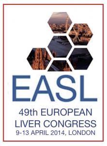 EASL 2014 logo for i-Base.info website