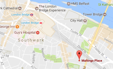 Map London Bridge.Map And Directions Hiv I Base