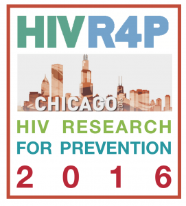 HIVR4P Chicago HIV Research for Prevention 2016